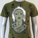 SHIROI NEKO T-shirt Tattoo Rock Skull Punk Mens Code : A073 Size=M