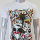 SHIROI NEKO T-shirt Tattoo Rock Skull Punk Mens Code : A074 Size=M