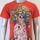 SHIROI NEKO T-shirt Tattoo Rock Skull Punk Mens Code : A080 Size=M