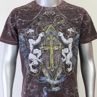 SHIROI NEKO T-shirt Tattoo Rock Skull Punk Mens Code : A020 Size=L