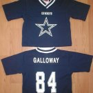 DALLAS COWBOYS Baby Infant Toddler JOEY GALLOWAY #84 Jersey 3 3T NEW