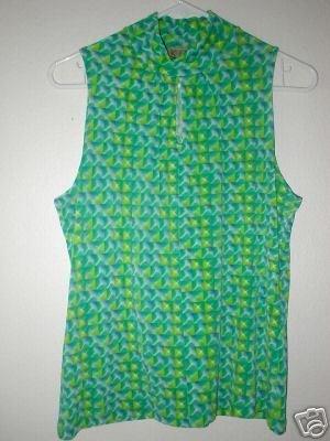 KIM & CO Brand Slinky Prism Sleeveless Tank Top SM MED