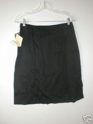 MAXIMO Contour Waist Skirt w/ Box Pleat MED 10 12 M NWT