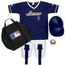 HOUSTON ASTROS MLB Youth Halloween Costume Baseball Uniform MEDIUM New 7-10