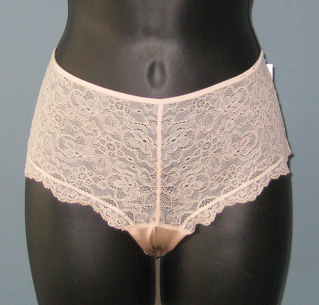 NWT Calvin Klein Rosedust Lace Mystique Hipster Boyshort Panties #F2976 - L