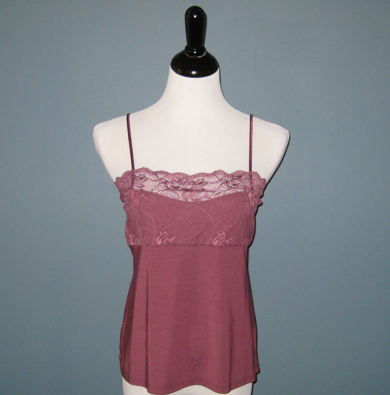 NWT Hanro of Switzerland Gala Collection Camisole #9618 (Mauve) - L