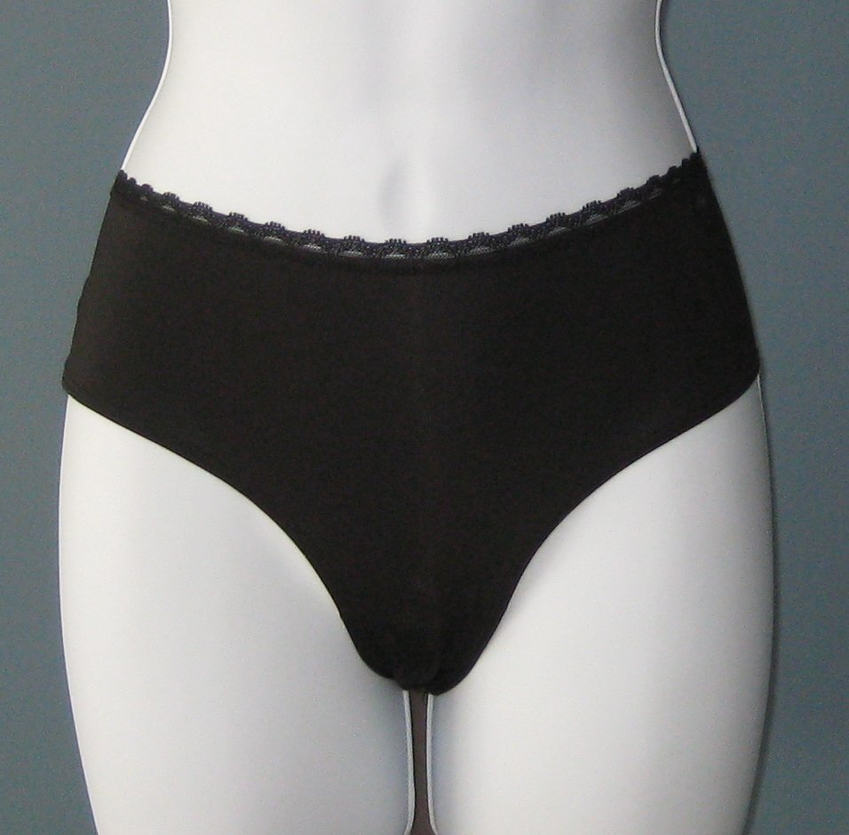 NWT Calvin Klein Black Stretch Microfiber Brief Panties #D3497 - M
