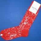 NWT Happy Socks Red w/White Curtis Kulig Love Me Cotton Socks
