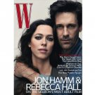 Pre-Owned W Magazine - Jon Hamm & Rebecca Hall Cover - August 2010