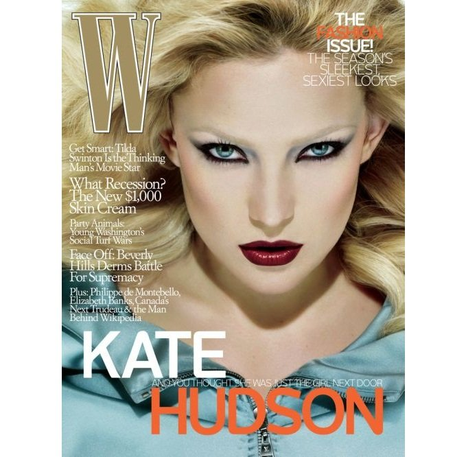 Pre-Owned W Magazine - Kate Hudson Cover - September 2008