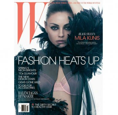 Pre-Owned W Magazine - Mila Kunis Cover - March 2011