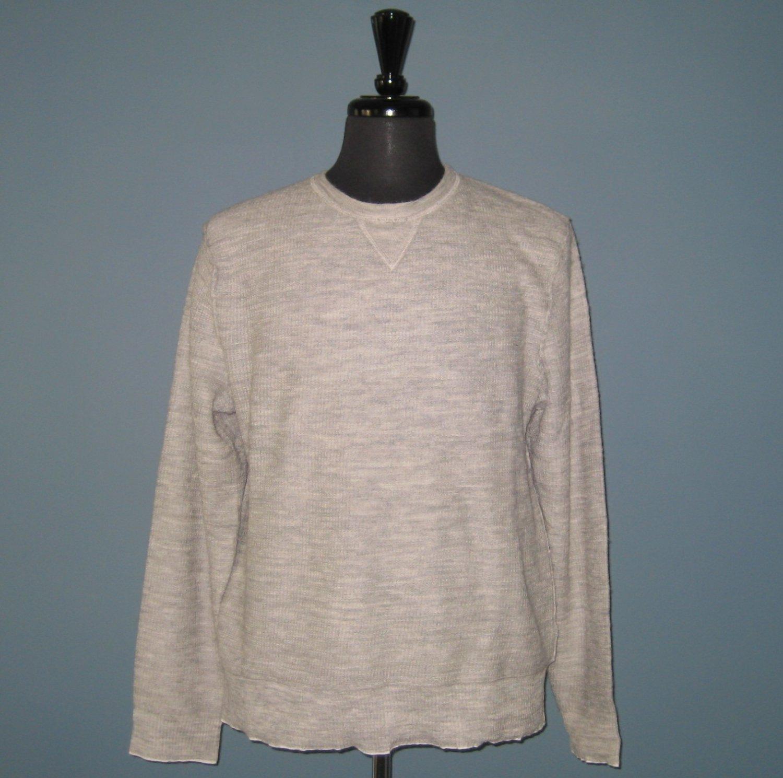 NWT Ralph Lauren RLX Men's Double Layered Alpaca & Cotton Sweater Pullover Shirt - S