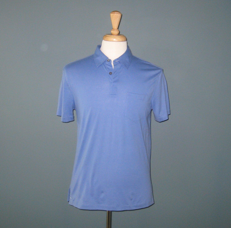NWT Ralph Lauren Black Label Blue 100% Cotton Polo Shirt - M