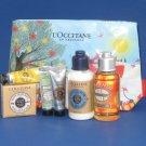 NIP L'Occitane Shea & Almond Essentials Travel Gift Set - 7 Piece Set