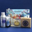 NIP L'Occitane Lavender Shea & Divine Essentials Travel Gift Set - 10 Piece Set