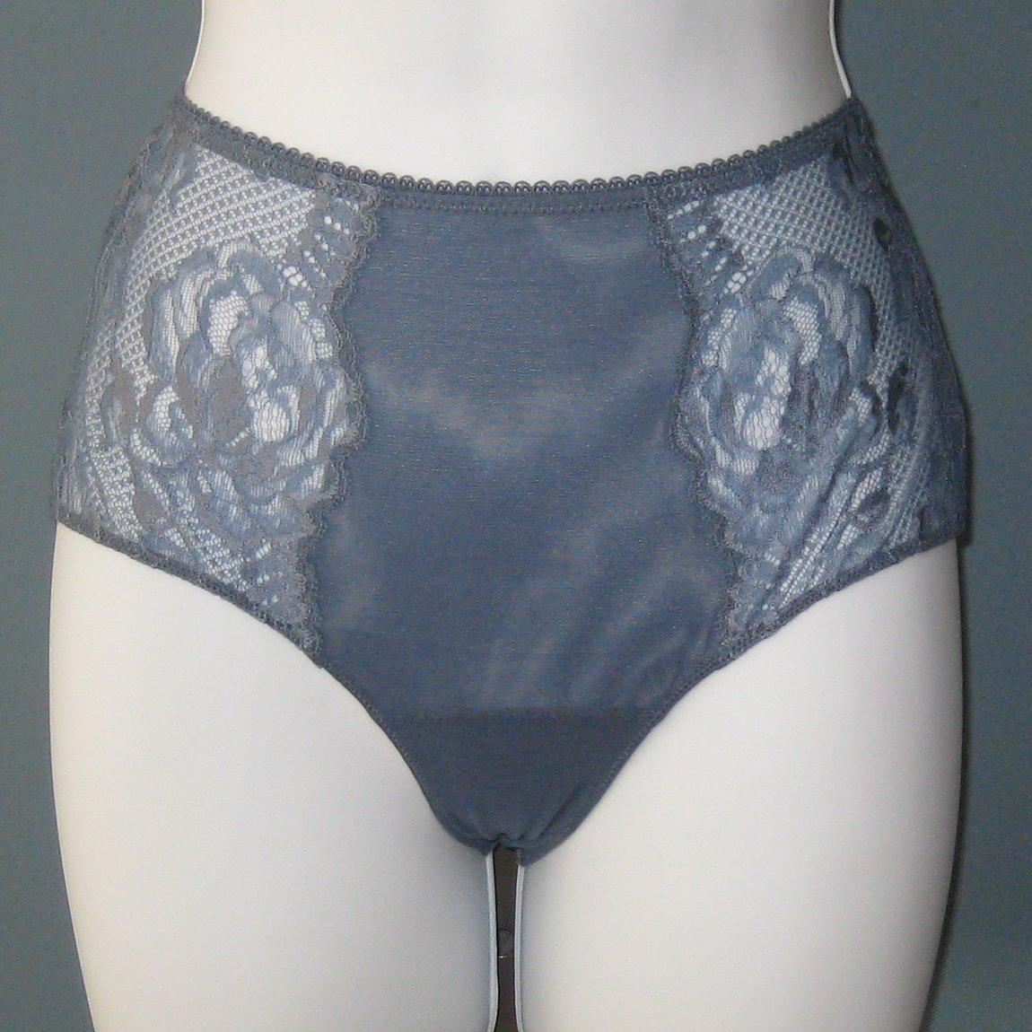 NWT La Perla Blue Begonia High Rise Brief Panty #0019552 - XS