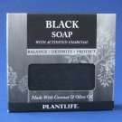 NIB Plantlife Black Soap with Activated Charcoal 4.5oz