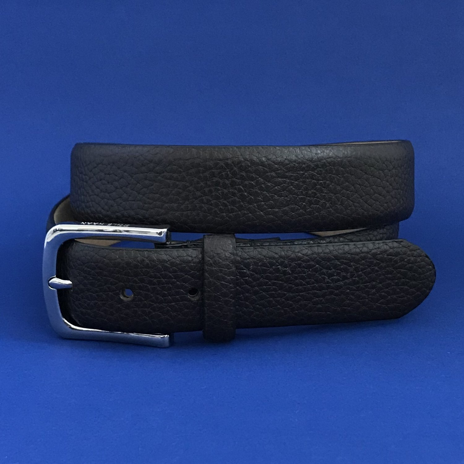 NWT Cole Haan 35MM Chocolate Brown Pebbled Leather Belt #CHDM31041 - 36