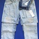NWT AG Adriano Goldschmied AG-ED Denim Matchbox Slim Straight Jeans 32x35