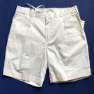 NWT J Lindberg Men's Off White Cropper Fluid Short Cotton Stretch - EU48