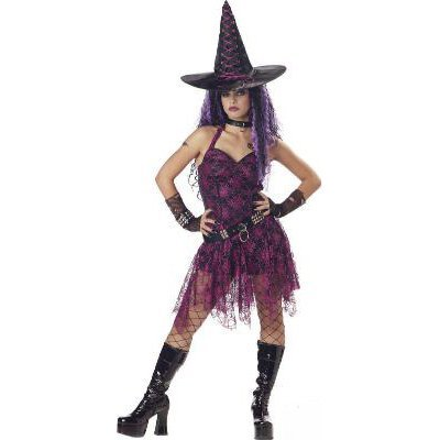 Gothic Rockin Witch Adult Costume Size: Small #00705