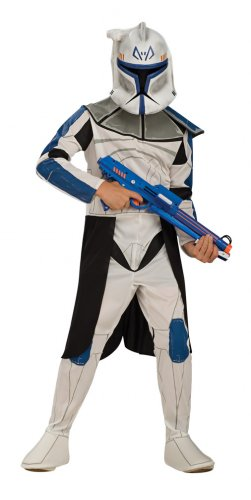 Child SMALL-Clone Trooper Captain Rex - Kids Halloween Costumes
