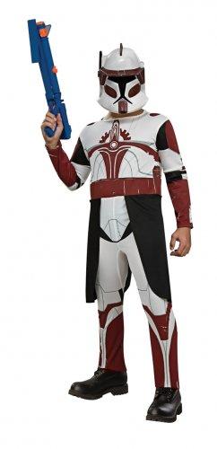 Child SMALL-Commander Fox Star Wars - Kids Halloween Costumes