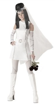 Bride of Frankenstein Frankie's Girl Teen Costume Size: Jr (3-5) #05007