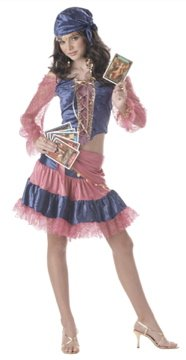 Fortune Teller Diva of Destiny Gypsy Teen Costume Size: Jr (7-9) #05009