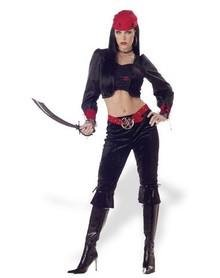 Gothic Pirate Lady Costume Size: Small  #01516