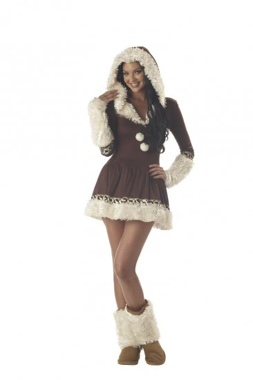 Igloo Eskimo Kisses Adult Costume Size: Medium #01017