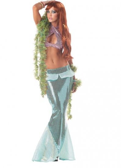 Ariel Mesmerizing Mermaid Adult Costume Size: Small #00862