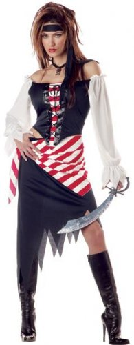 Ruby, The Pirate Beauty Adult Costume Size: Small #01291