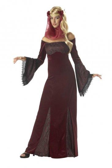 Medieval  Renaissance Maiden Adult Costume Size: Medium #01087