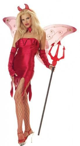 Devil Tinkerhell Fairy Adult Costume Size Small #1298