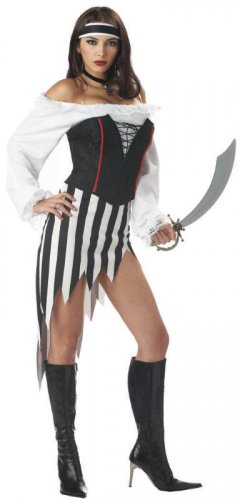 Buccaneer Babe  Pirate Adult Costume Size: Small #00953