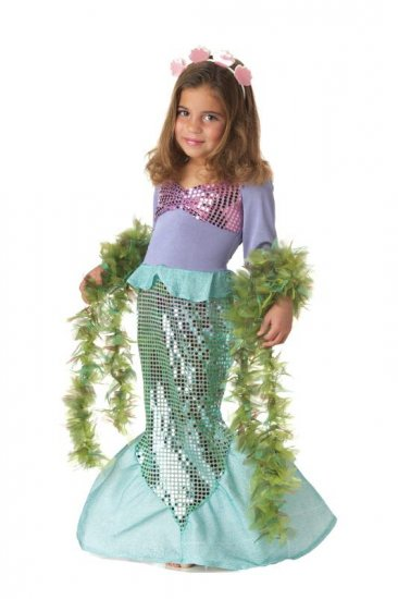 Ariel  Mermaid Toddler Costume Size: Medium #00015