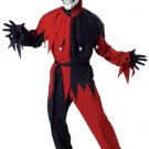 Evil Jester Adult Clown Costume Size: Small #00746