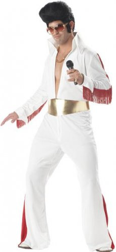 Elvis Rock N Roll Star Adult  Costume Size: X-Large #01029