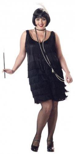 Fashion Flapper Plus Size Adult Costume: 2X-Large #01048
