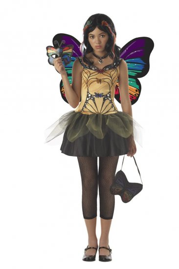 Butterfly Masquerade Monster High Tween Child Costume Size: Large #04021