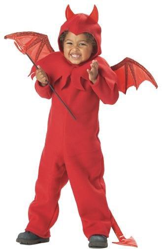 Little Spitfire Devil Toddler Costume Size: Medium #00005
