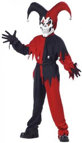 Circus Clown Evil Jester Child Costume Size: Small #00221