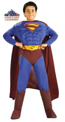 Superman Returns Deluxe Muscle Chest Costume Size: Medium #882302M