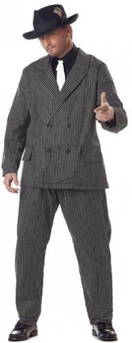 20's Gangster Plus Size Adult Costume #01176