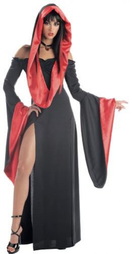 Sexy Robe Vampire Adult Costume Size: Small