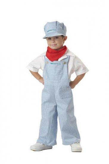 Amtrak Thomas The Train Engineer Toddler Costume Size: Medium #00049