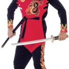 Ninja of the Black Dragon Child Costume Size: Small