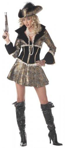 Pirate Captain D' Elegance Adult Costume Size: X-Large #00938