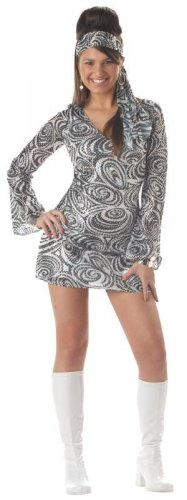 70's Disco Diva Go Go Girl Teen Costume Size: Jr (3-5) #05036